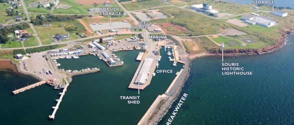 Souris Harbour Authority holdings – click to enlarge
